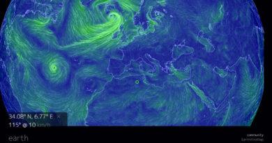 Ветры на планете Земля