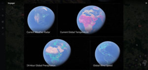 Google Earth карта погоды