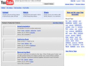 youtube, старый дизайн