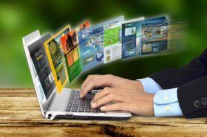 Интернет, ноутбук, работа, сайт